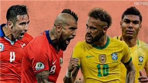 Link xem trực tiếp bóng đá Chile vs Brazil, vòng loại World Cup 2022 (08h00, 3/9)