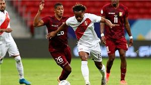 Link xem trực tiếp bóng đá Peru vs Venezuela, vòng loại World Cup 2022 (08h00, 6/9)