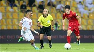 Lịch thi đấu bóng đá Việt Nam tại vòng loại World Cup 2022 châu Á