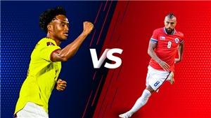 TRỰC TIẾP bóng đá Colombia vs Chile, vòng loại World Cup 2022 (6h00, 10/9)