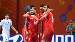 VTV6 TRỰC TIẾP bóng đá Iran vs Kazakhstan, Futsal World Cup 2021 (00h00, 28/9)