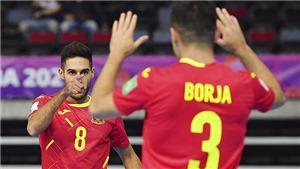 VTV6 TRỰC TIẾP bóng đá Tây Ban Nha vs Bồ Đào Nha, Futsal World Cup 2021 (21h30, 27/9)