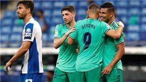 KẾT QUẢ bóng đá Espanyol 2-1 Real Madrid, bóng đá Tây Ban Nha hôm nay