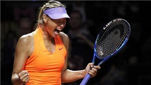 May mà Sharapova trở lại. Nếu không, tennis nữ chẳng có gì để chờ đợi