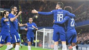 Video clip highlights bàn thắng trận Chelsea 4-0 Hull: Willian lập cú đúp, Giroud ghi bàn ra mắt