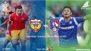 Soi kèo bóng đá Hà Tĩnh đấu với Quảng Ninh. Trực tiếp bóng đá cúp Quốc gia. BĐTV