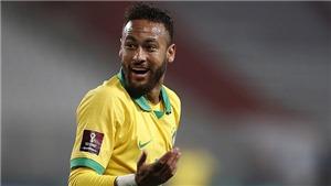 Neymar gây sốc khi bất ngờ bị loại khỏi đội hình Brazil đá vòng loại World Cup