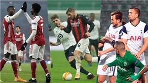 Cúp C2: Arsenal và Tottenham thắng dễ. AC Milan thảm bại