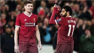 Salah vượt qua Steven Gerrard, lập kỷ lục trong lịch sử Liverpool