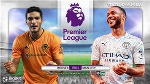 Soi kèo nhà cái Wolves vs Man City. Vòng 2 Ngoại hạng Anh. Trực tiếp K+ PM