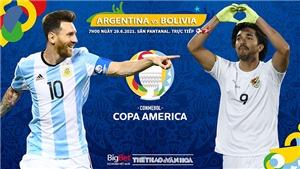 Kèo nhà cái. Soi kèoArgentina vs Bolivia. BĐTV trực tiếp Copa America 2021