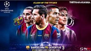 Soi kèo nhà cái Barcelona vs Juventus. Trực tiếp bóng đá cúp C1 châu Âu