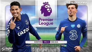 Soi kèo nhà cái Everton vs Chelsea. Vòng 12 Giải Ngoại hạng Anh.