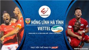 Soi kèo nhà cái. Hà Tĩnh vs Viettel. Trực tiếp bóng đá Việt Nam 2020