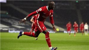 Tottenham 1-3 Liverpool: Mane bùng nổ đưa Liverpool trở lại Top 4