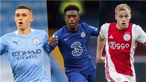 Foden, Van de Beek và những ngôi sao bóng đá đi lên từ nhặt bóng