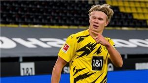 MU và Man City chú ý: Dortmund ra giá 154 triệu bảng cho Haaland