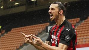 AC Milan 4-0 Crotone: Ibrahimovic đạt mốc 500 bàn, Milan trở lại ngôi đầu