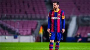 Lionel Messi: Ở lại Barcelona hay chuyển tới Man City?