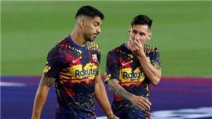 Suarez chỉ trích Barcelona vì để lộ hợp đồng 555 triệu euro với Messi