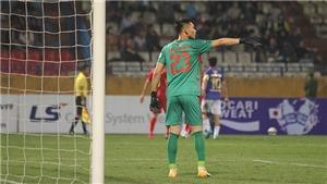 HLV Petrovic bực vì chấn thương của thủ môn Thanh Diệp