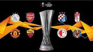 Lịch thi đấu tứ kết cúp C2/Europa League: Granada vs MU.Arsenal vs Praha Slavia