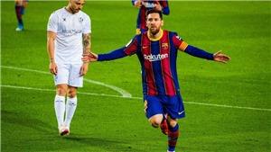 Barcelona: Messi vẫn ở trên đỉnh cao của bóng đá