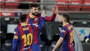 Barcelona 3-0 Sevilla: Ngược dòng ngoạn mục, Barcelona vào chung kết cúp Nhà vua