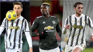 Juventus thanh lọc đội hình để đón Pogba