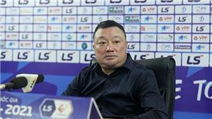 HLV Trương Việt Hoàng thừa nhận Viettel thắng may mắn