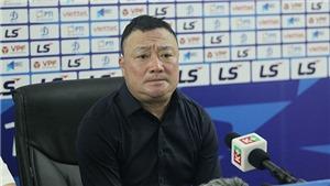 HLV Trương Việt Hoàng giải tỏa áp lực sau trận thắng Sài Gòn