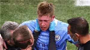 De Bruyne có thể lỡ EURO 2020 vì chấn thương nặng ở Chung kết C1