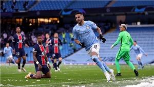Man City 2-0 PSG (chung cuộc 4-1): Mahrez lập cú đúp đưa Man City vào Chung kết