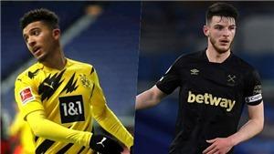 MU thua chung kết, Solskjaer muốn mua 4 cầu thủ, Sancho và Rice đứng đầu