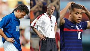 6 siêu sao bóng đá từng đá hỏng luân lưu trước Bukayo Saka