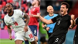 EURO 2021: Anh và Đức rộng đường vào Chung kết nếu thắng ở vòng 1/8