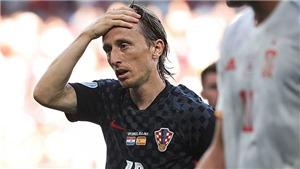 Luka Modric: Hoàng hôn trong mắt trong