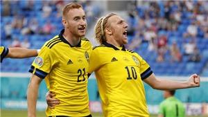 Xem trực tiếp bóng đá Thụy Điển vs Ukraina, EURO 2021 vòng 1/8 trên VTV3