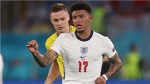 Đội hình dự kiến Anh vs Đan Mạch: Sancho mất suất đá chính?