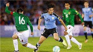 Nhận định Bolivia vs Uruguay (trực tiếp BĐTV): Chiến thắng giải tỏa cho Uruguay