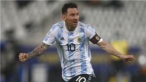 Argentina 1-1 Chile: Messi ghi bàn siêu đẹp, Argentina vẫn không thắng Chile