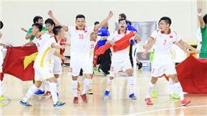 Bốc thăm Futsal World Cup 2021: Việt Nam nằm cùng bảng với Brazil