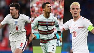 Đội hình tiêu biểu EURO 2021: Ý, Anh thống trị đội hình. Bất ngờ với Xhaka - Pogba