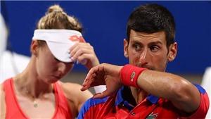 Djokovic tiếp tục thất bại ở nội dung đôi nam nữ, tan mộng HCV Olympic