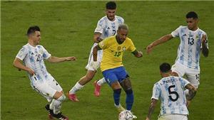 Trận chung kết Copa America 2021 bị chỉ trích vì quá bạo lực