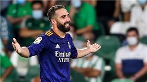 Real Betis 0-1 Real Madrid: Carvajal tỏa sáng, Real Madrid tạm chiếm ngôi đầu La Liga