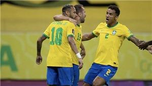 Brazil 2-0 Peru: Neymar tỏa sáng, Brazil tiếp tục mạch toàn thắng