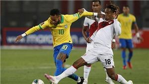 TRỰC TIẾP bóng đá Brazil vs Peru, vòng loại World Cup 2022 (7h30, 10/9)