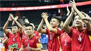 Futsal Việt Nam được khen ngợi khi thua Nga sát nút ở vòng 1/8 World Cup