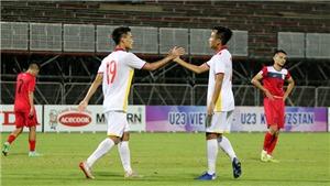 XEM TRỰC TIẾP bóng đá U23 Việt Nam vs U23 Đài Loan trên VTV6 (17h00, 27/10)
